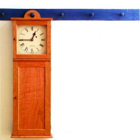 Free Plan Shaker Wall Clock Fine Woodworking Wall Clock Plans Woodworking Plans Clocks Wall Clock