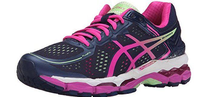 Asics Women's Gel Kayano 22 - Running Shoe for Bad Knees and overpronation