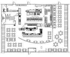 Italian Restaurant Floor Plan. commercial steak house kitchens layout  Google Search