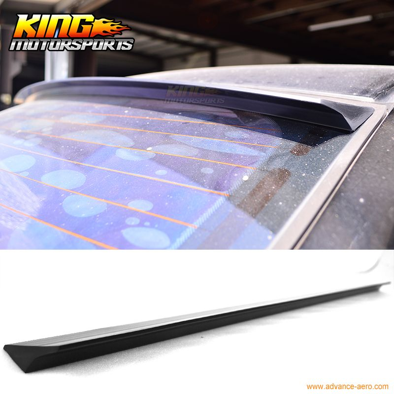 For 2008 2013 09 10 11 12 Benz W204 4d Vrs Style Roof Spoiler Wing Unpainted Puf Auto Replacement Parts Pinterest