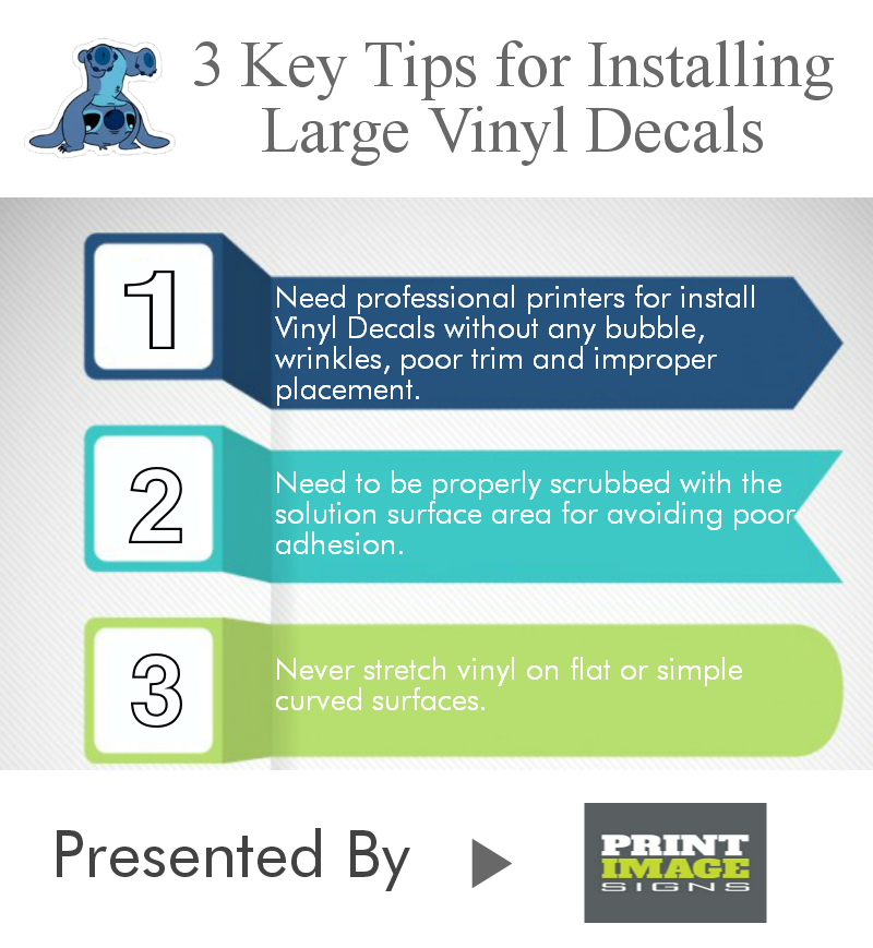 Read This Infographic And Follow This Tips For Installing Vinyl - Installing vinyl decals