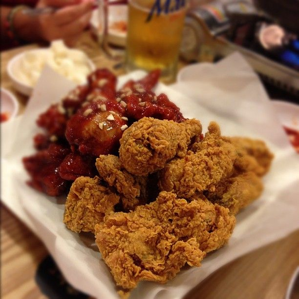 Korean Fried Chicken Naruone Korean Restaurant 375 Pitt St Food