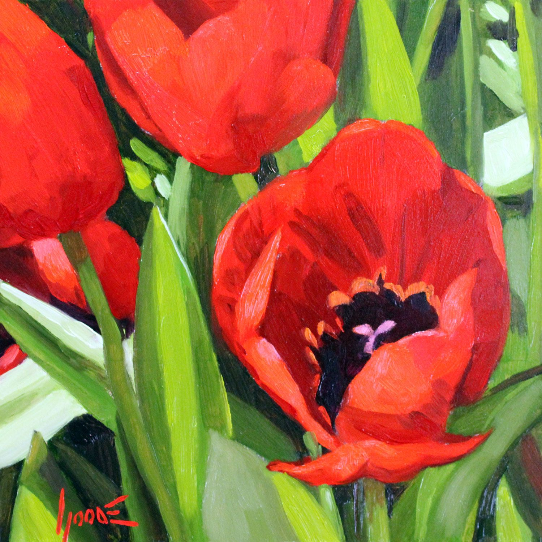 Tulips No.5 https://www.rogergoodefineart.com/paintings/tulips-no5 ...