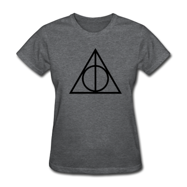 The Deathly Hallows - Harry Potter Women's T-Shirts