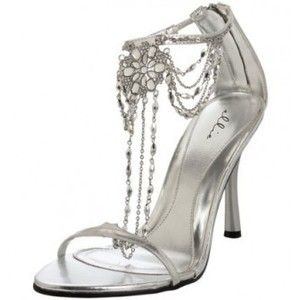 silver highheel shoes - Google Search