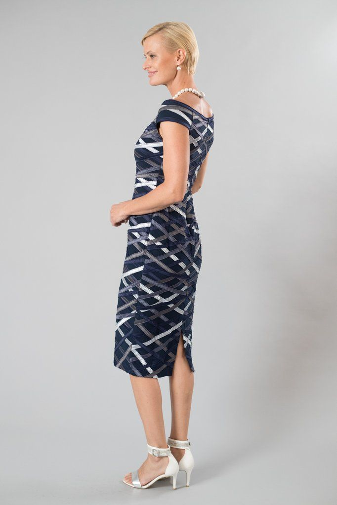 40c05487090 Living Silk - specialising in navy dresses and two piece outfits with  sleeves for the modern and elegant mother of the bride and mother of the  groom.