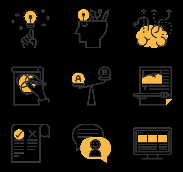 Design Thinking Graphic Design Brochure Design Thinking Icon Design