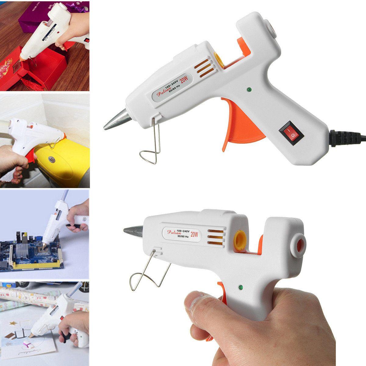 Glue Gun Electric Heating Craft Melt Glue Gun for Art Craft Album ...