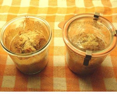 Nusskuchen aus dem Glas: Muffins, Cupcakes & Tartelettes
