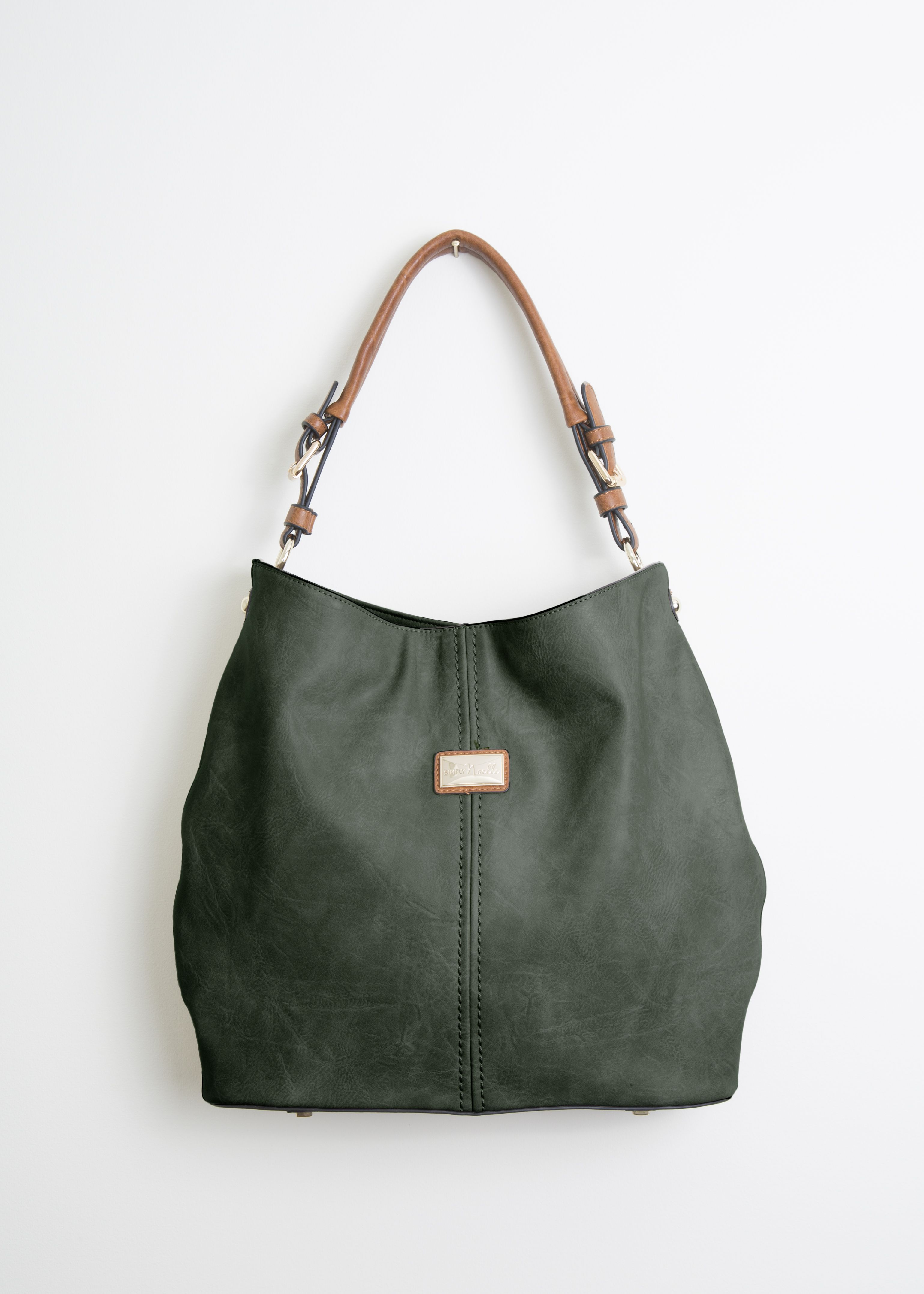 1ce1b6eea5af Essential -- The Simply Noelle Hobo Handbag in Fern - Find this beautiful  bag in several colors at Ashcombe Farm and Greenhouses!