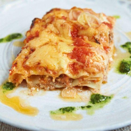 Mett-Lasagne