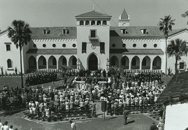 Olin Library Dedication, 1985 by Rollins College, via Flickr