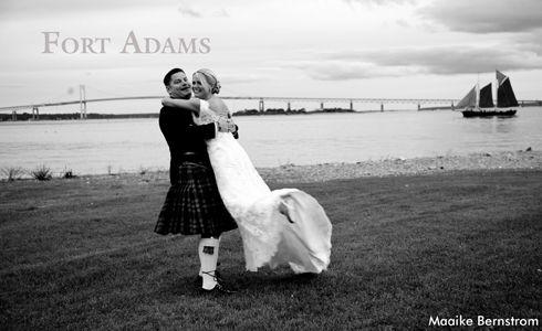 Charlotte Snowden & Ian McGregor Fort Adams September 17, 2011 Maaike Bernstrom Photography