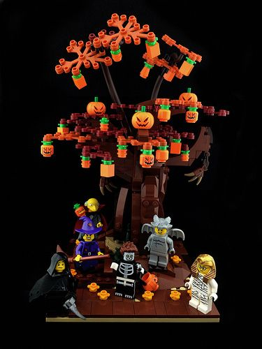 The Halloween Tree Lego Arbre Lego Creativite
