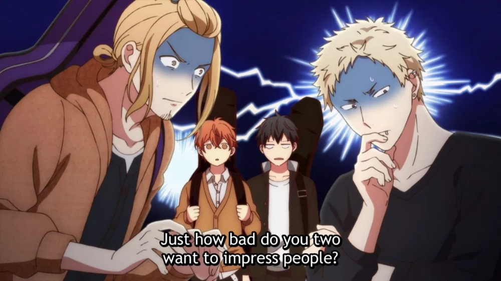 Given Episode 1 Musings in E minor Gallery Anime