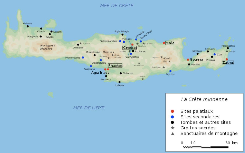 Carte Crete Minoenne.Minoan Minoen Minoenne Map Crete Carte Our Home