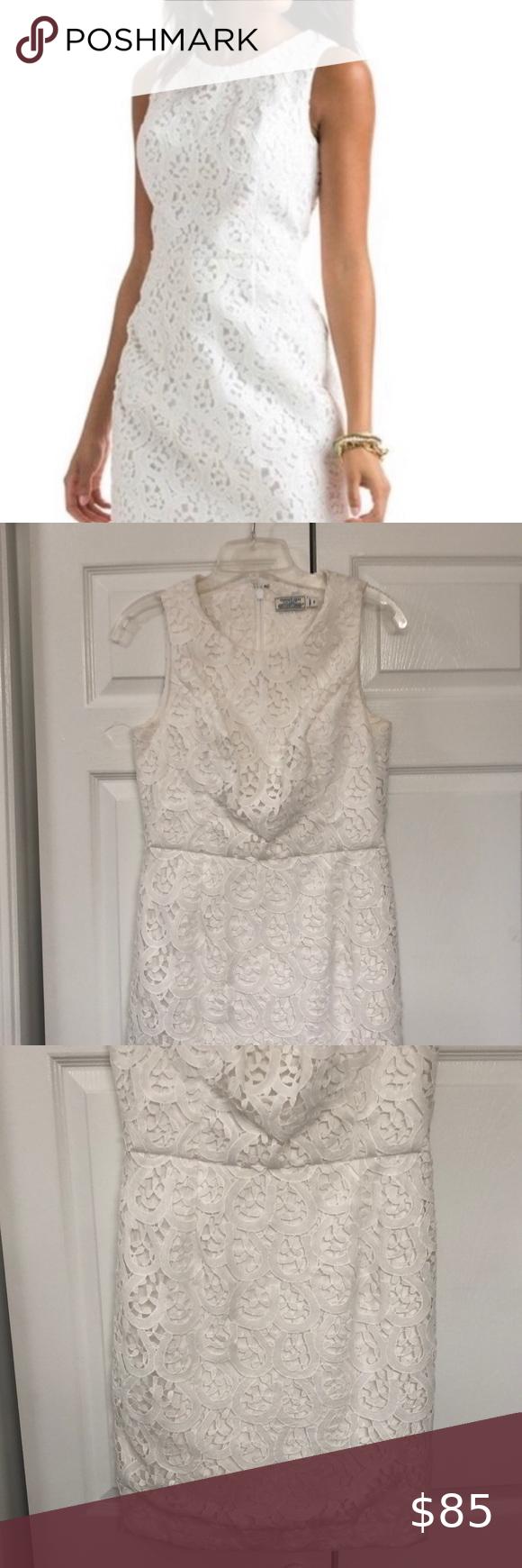 Vineyard Vines White Shift Dress Size 6 In 2020 White Lace Shift Dress Lace Shift Dress White Shift Dresses [ 1740 x 580 Pixel ]
