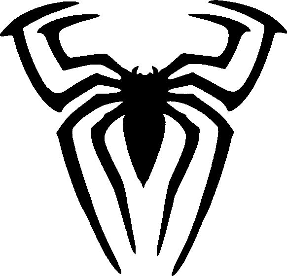 spiderman spider stencil tag body art for the little lassies rh pinterest co uk spiderman homecoming logo template spiderman spider logo template