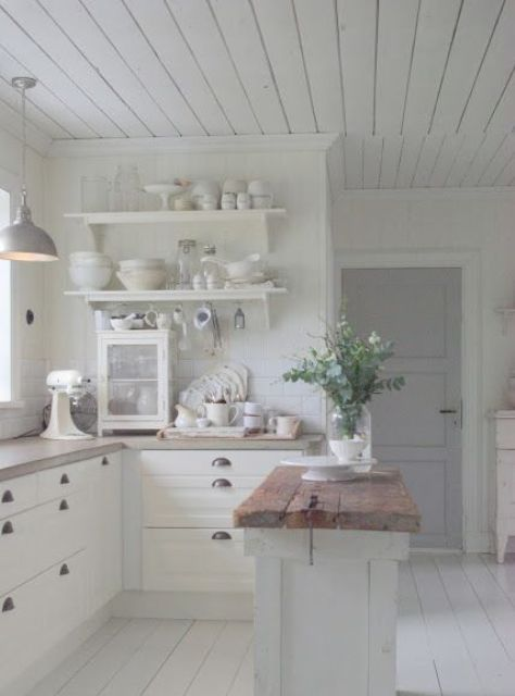 25 Stunning Shabby Chic Kitchen Design Ideas Cottage Kitchen