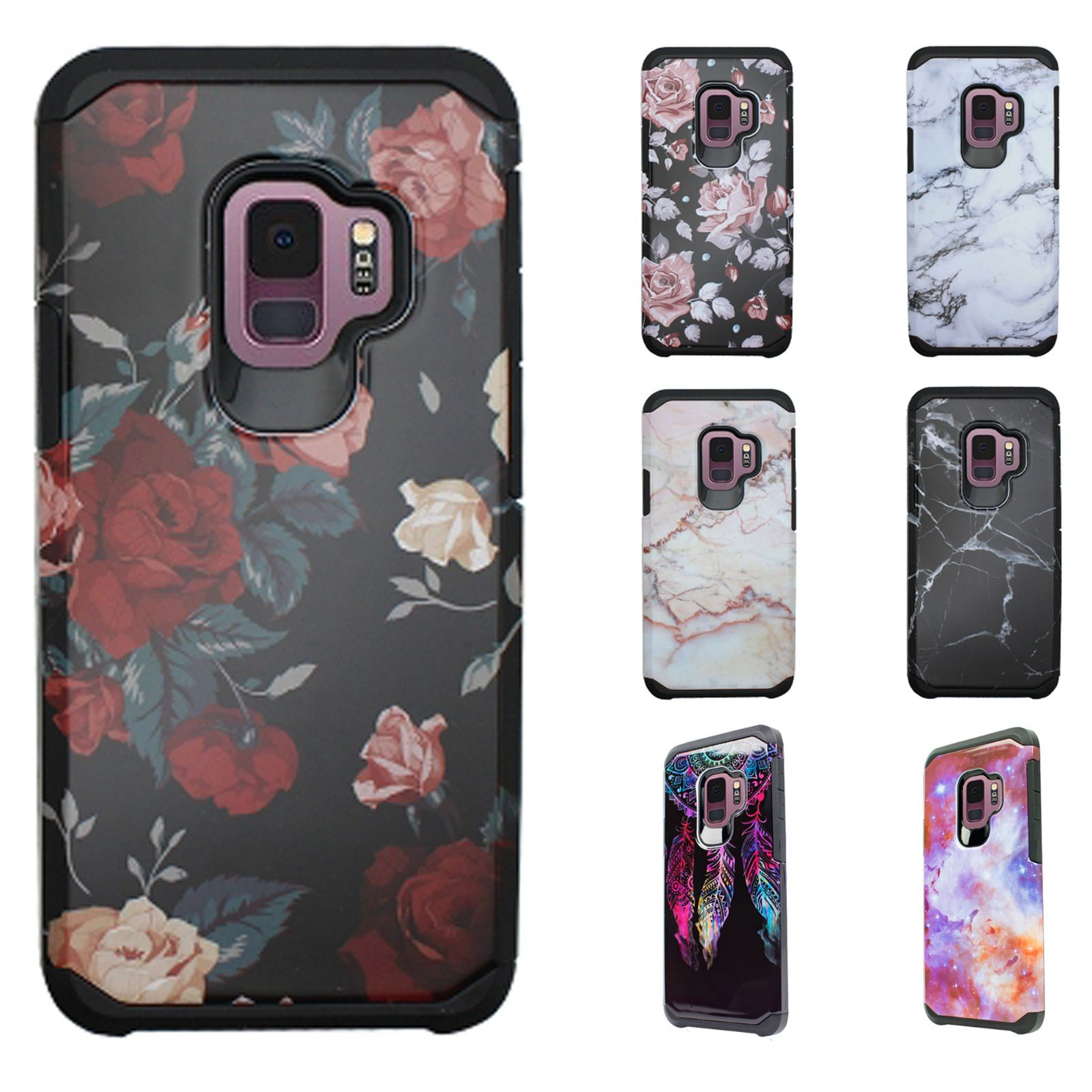 new product c1dbd 114bc $7.95 - For Samsung Galaxy S9 / S9 Plus Hard Astronoot Hybrid Rubber ...