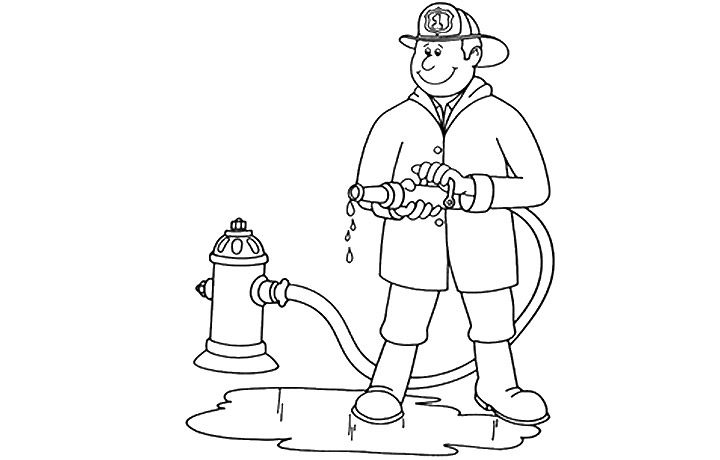 Community Helpers Coloring Pages Nurse - Colorine.net | #16735 ...
