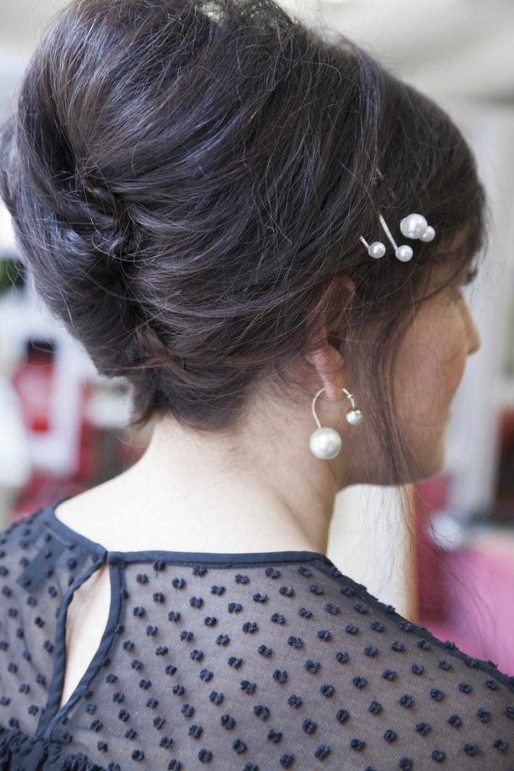 Easy minute updo hairstyles for date nights wedding from brit
