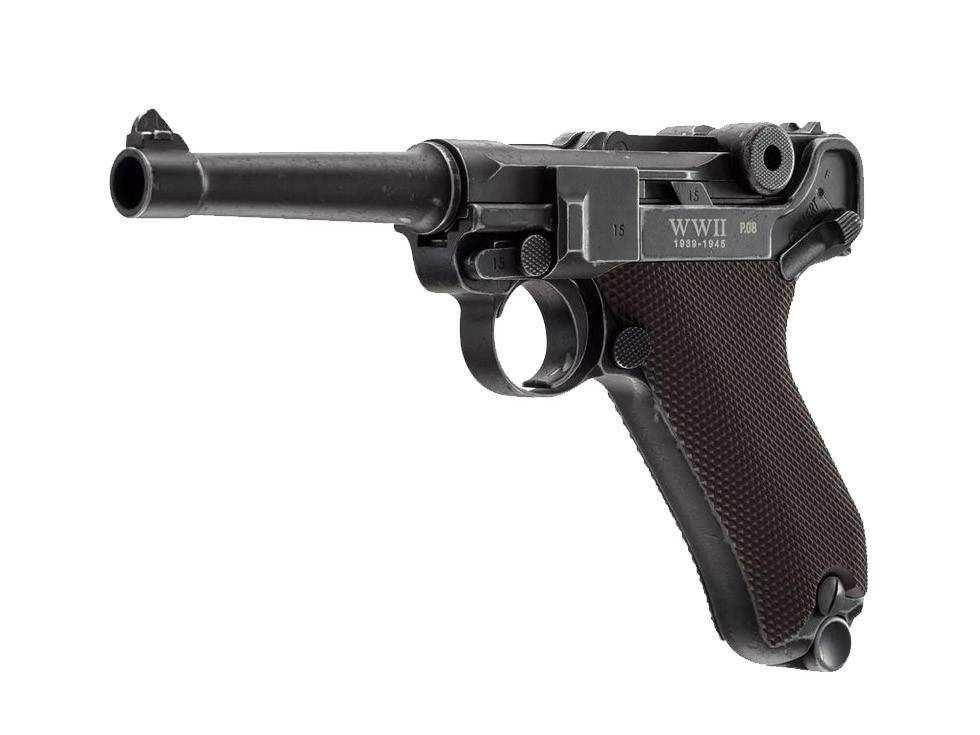 Umarex Wwii Limited Edition P08 Co2 Pistol Full Metal Air Guns