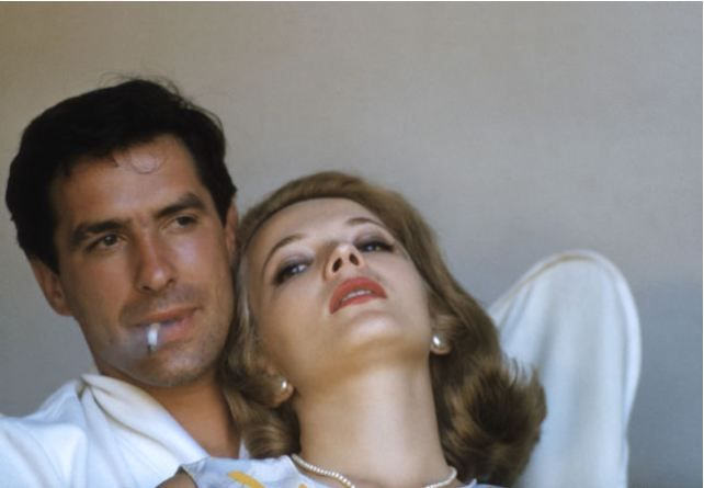 John Cassavetes and Gena Rowlands, at home in California, circa 1960's