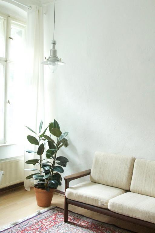Schöne, schlichte Wohnzimmer-Einrichtung #Wohnzimmer #livingroom - grose fenster wohnzimmer