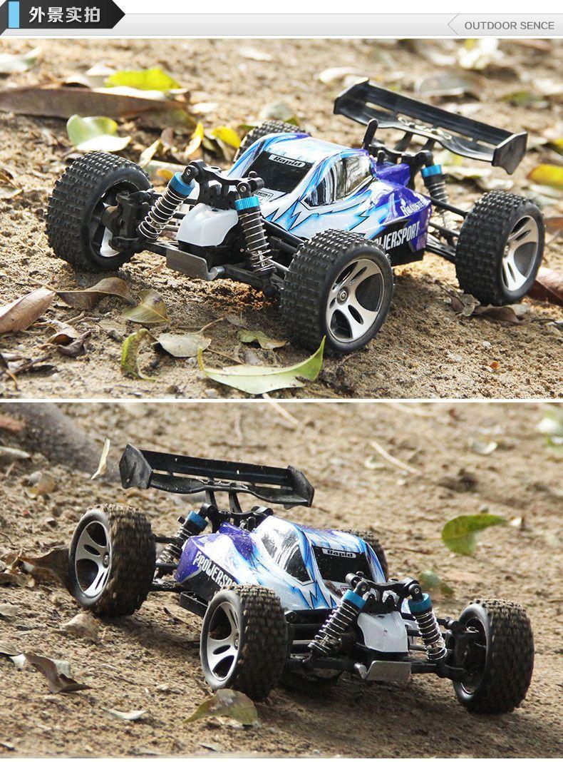 wltoys a959 24g radio remote control rc car kid toy model scale 118