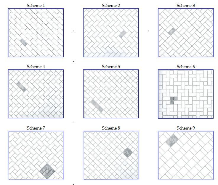 Tile Layouts Home Pinterest Subway Tiles Metro
