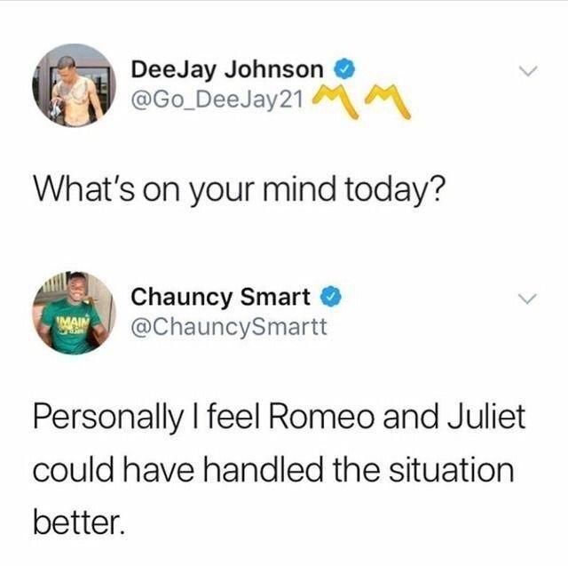 Renaissance thoughts.