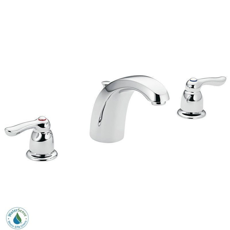 Moen 8922 Double Handle Widespread Bathroom Faucet from the M-BITION ...