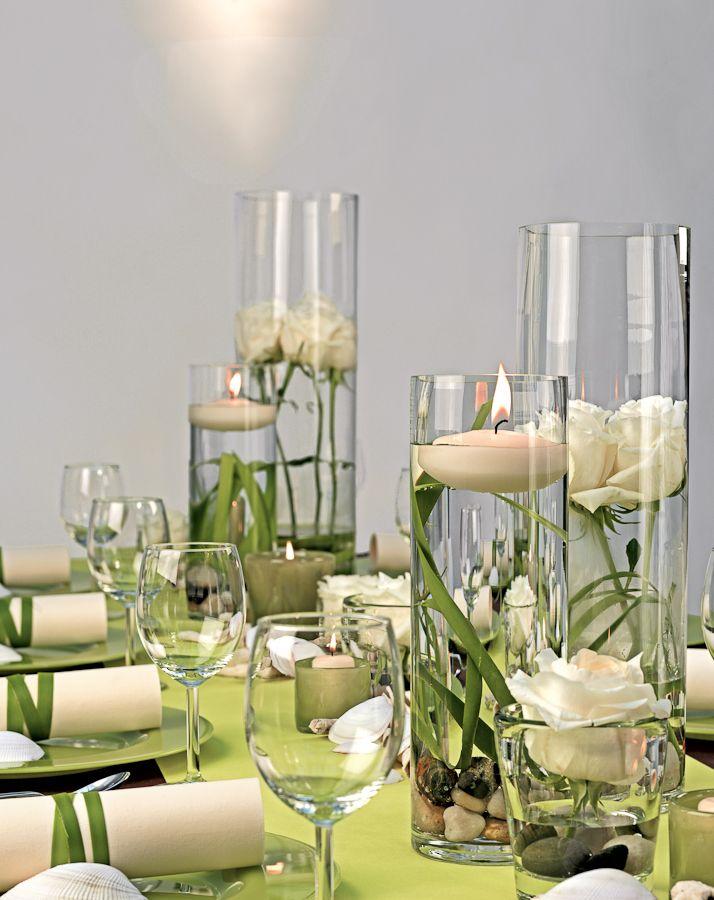 Lindgrun Und Creme Taufe Pinterest Dekoration Hochzeit Grun