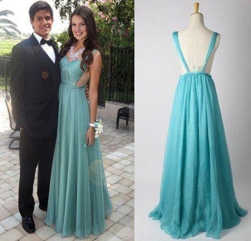 chiffon dresses prom