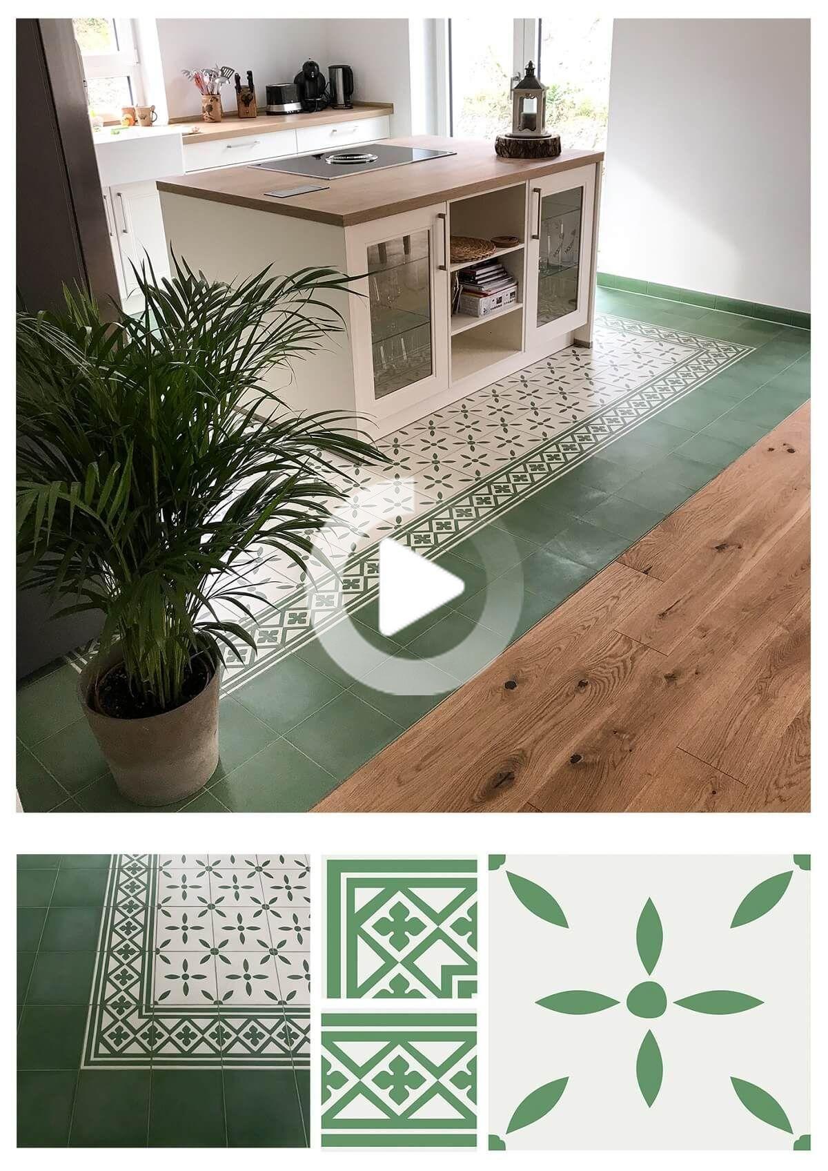 Cuisine De Campagne Moderne Rencontre Elegant Carreaux De Ciment