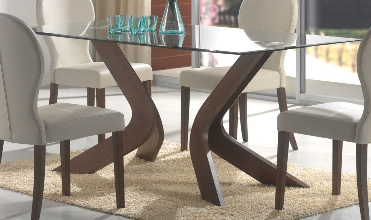 Gambar Dari Kumpulan Foto Meja Makan Kaca Gambar 32 Glass Dining Room Table Modern Dining Room Modern Dining Table