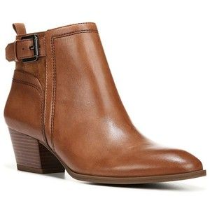19e0461b3822 Franco Sarto Garda Leather and Suede Ankle Boots