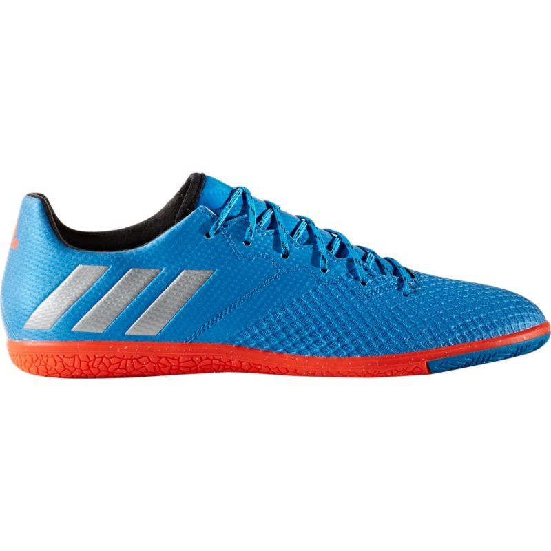 Adidas Men S Messi 16 3 Indoor Soccer Shoes Size 11 5 Blue Adidas Men Soccer Shoes Indoor Soccer