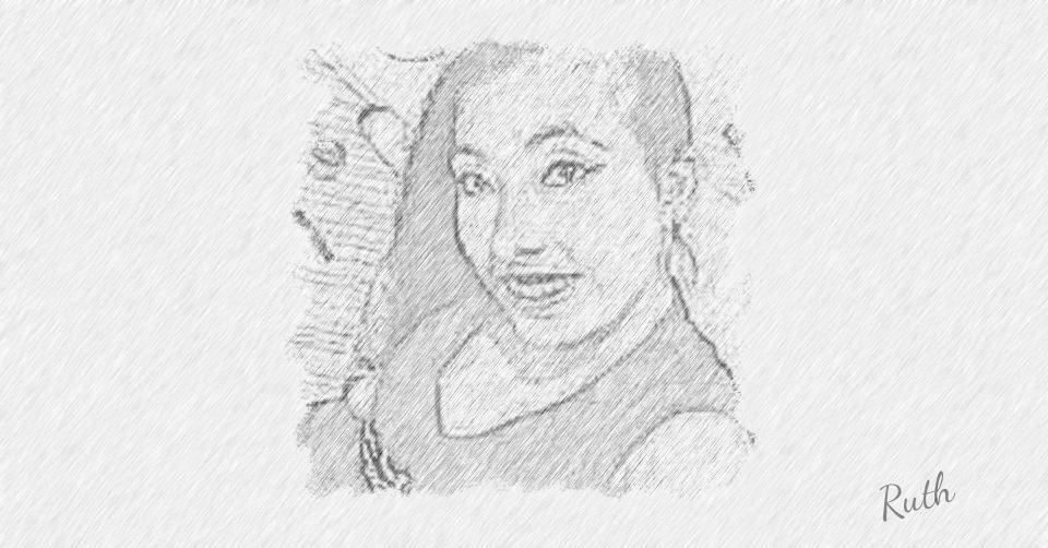 He Hecho Un Dibujo De Mi Mismo Female Sketch Ruth 1 Art
