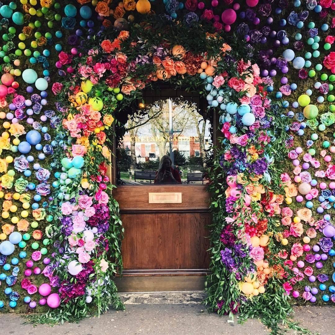 Easter Doorway! Chelsea garden, The ivy chelsea