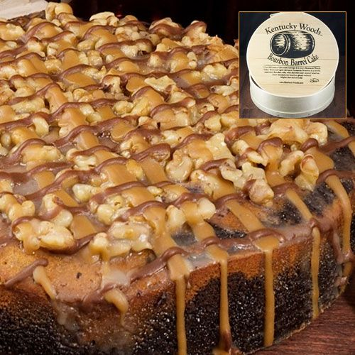 Kentucky Woods Bourbon Barrel Cake Is Made Only One Way