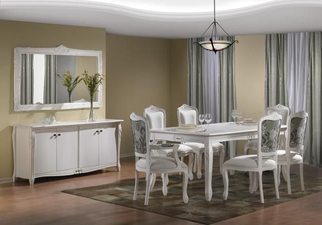 Mesa de Jantar Luis Xv - Wood Prime