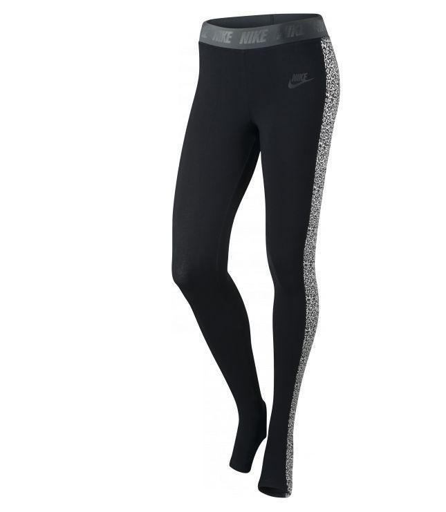 Nike 615051 Women's LEG-A-SEE Stirrup Leggings Tights Training Pants $60 Black  #Nike #PantsTightsLeggings