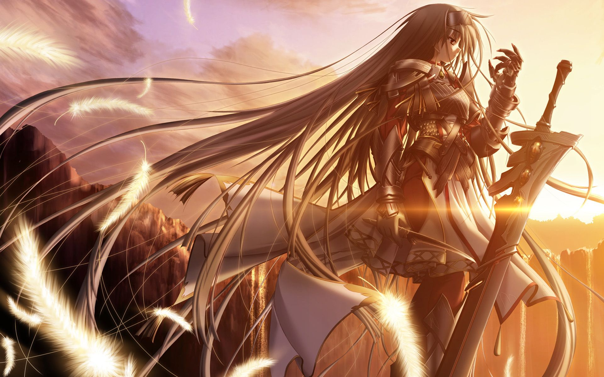 Anime Warrior Wallpaper Hd Dmz Anime Warrior Girl Samurai