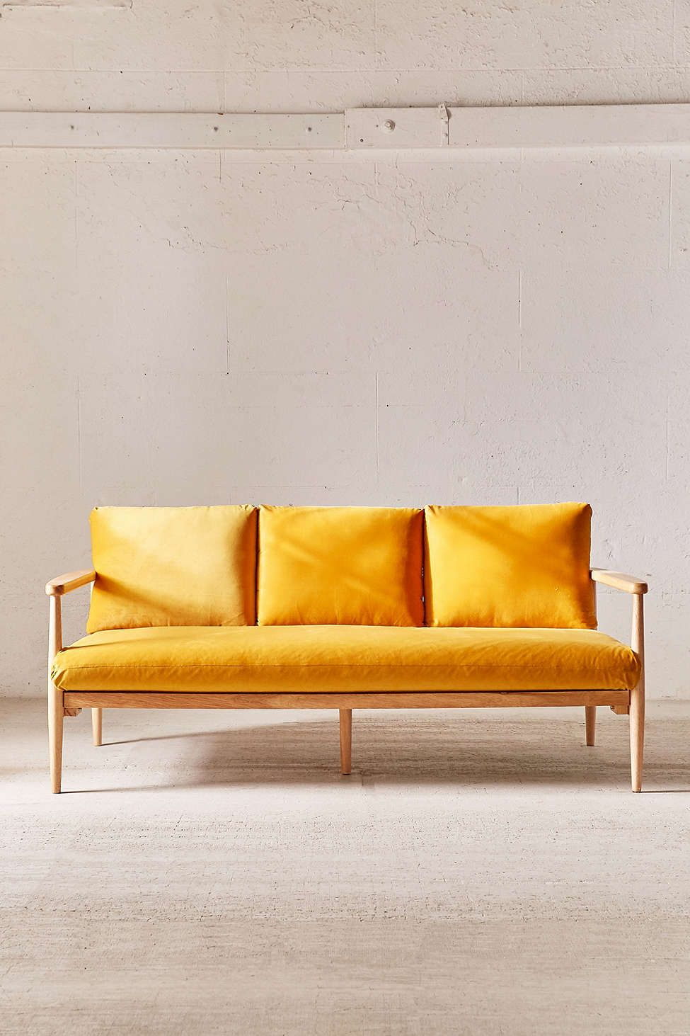 sofas sale outfitter sofa couch at urban outfitters velvet on minna strategist