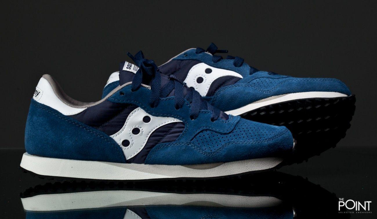 Zapatillas Saucony Dxn Trainer PRM Azul Verde, tenemos disponible en la  #tienadonlinedesneakers #ThePoint la nueva entrega del modelo de #zapatilla…