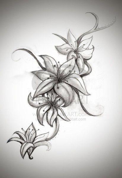 Tattoo Ideas Central Lily Tattoo Design Lillies Tattoo Lily Tattoo