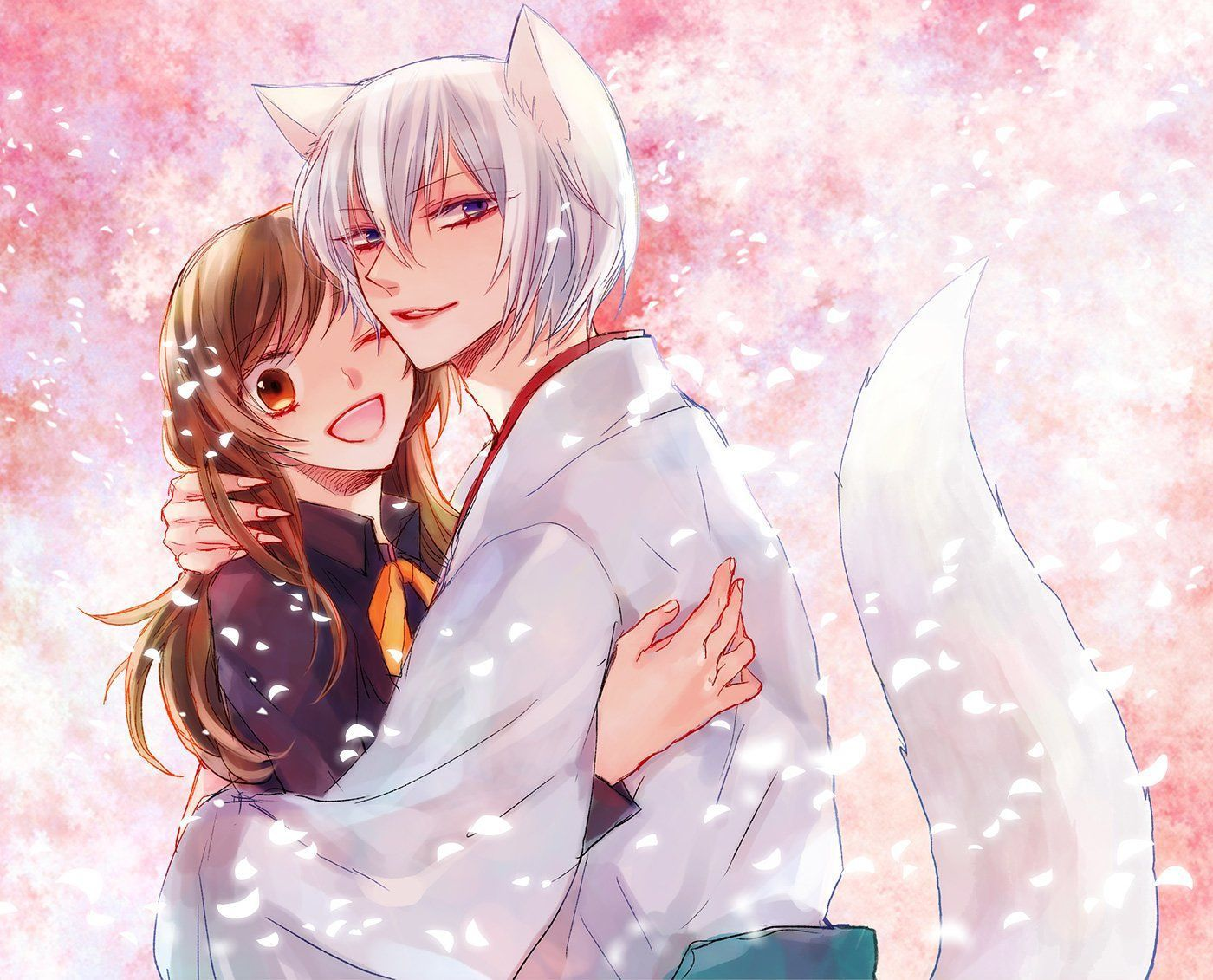 Kamisama kissanime download hd desktopmobile wallpaper and background images ultra fine full resolution royalty free gallery 3 d abstract cartoonanimation