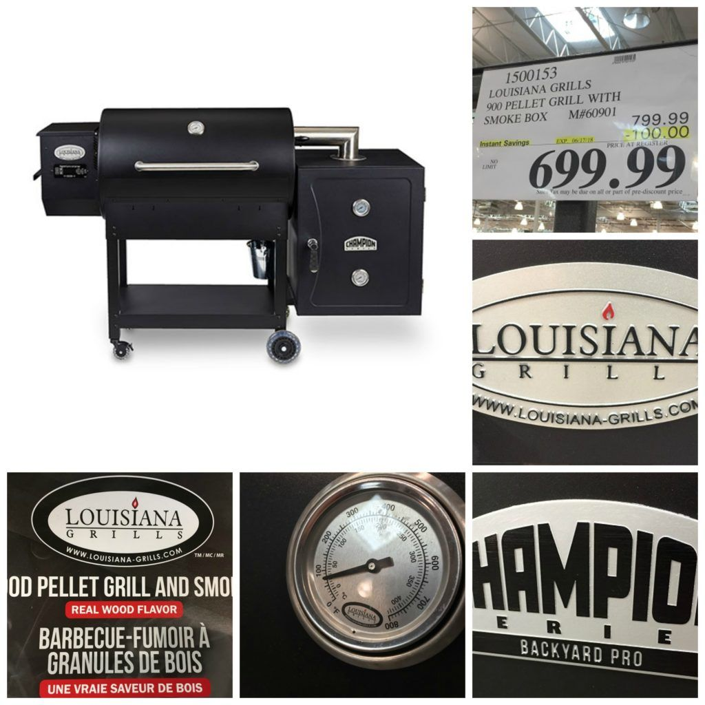 Louisiana Grills Champion Backyard Pro At Costco Review I Like It Louisiana Pellet Grill Louisiana Grills Pellet Grill